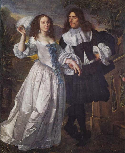 Bartholomeus van der Helst - Portrait of a patrician pair