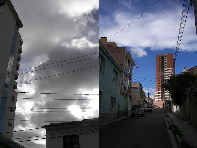 Ovni en La Paz, Bolivia - foto de los alrededores