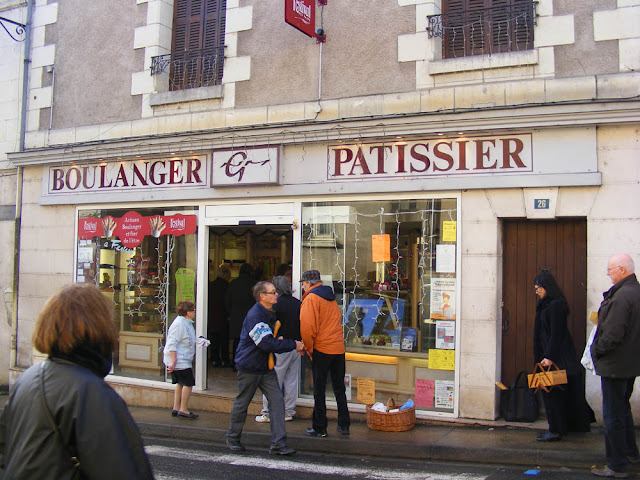 Village bakery, Indre et Loire, France. Photo by Loire Valley Time Travel.