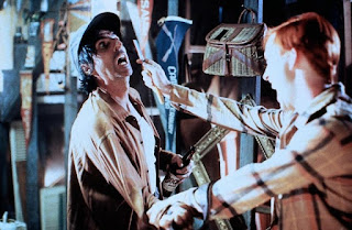 Daddy (Alice Cooper) gets killed by a young Fred Krueger.