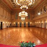 Velký sál - místo, kde se koná závěrečný ples