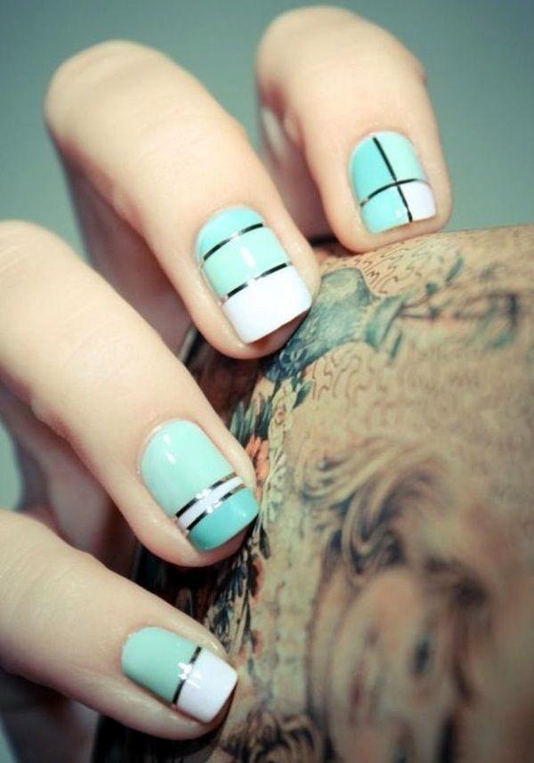 Create Nail Art Designs for Short Nails 2016   Fashion Qe