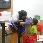 Dental Check Up of Nursery Afternoon Section, Witty World, Chikoowadi (2017-18)