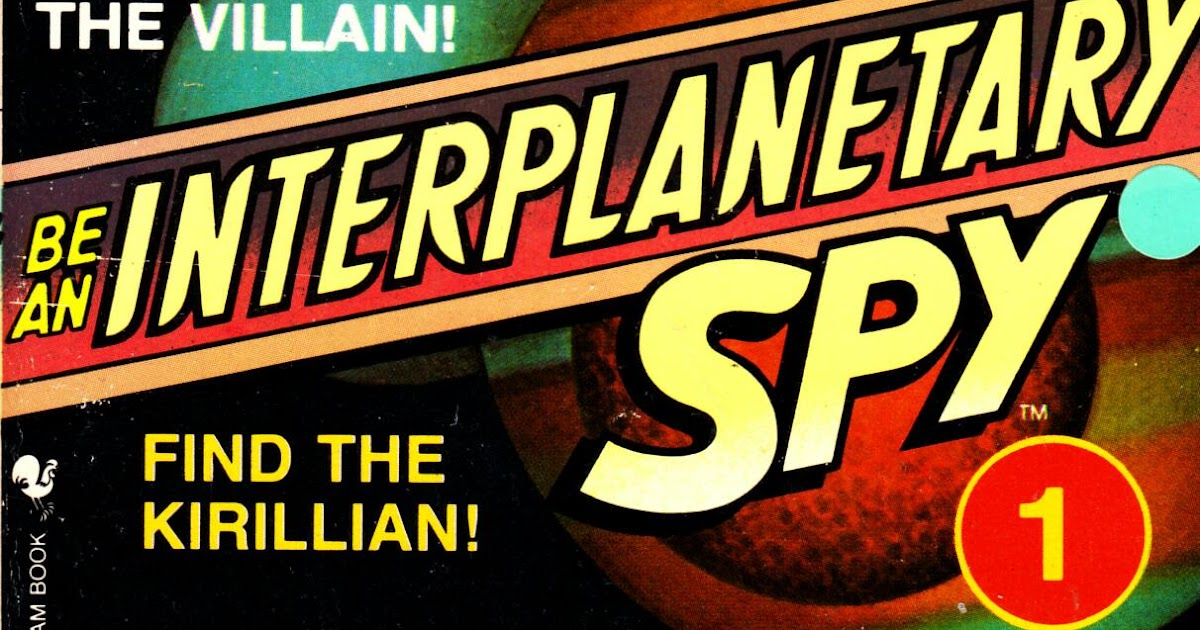 Be An Interplanetary Spy 4 Books (5-8) Choose Your Own Adventure