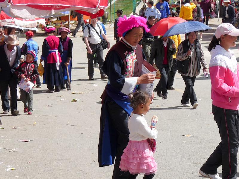 Chine. Yunnan.Shangri la Course hippique annuelle - P1250731.JPG
