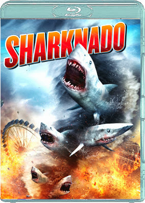 Filme Poster Sharknado BDRip XviD Dual Audio & RMVB Dublado