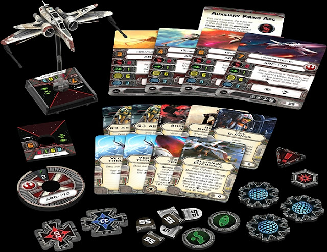 Wave 9 X-Wing ARC/170
