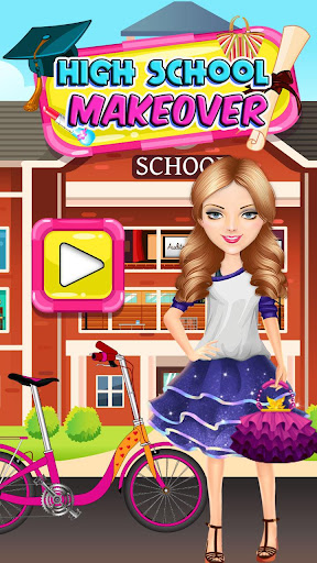 High School Party Makeover - BFFs Night Out screenshot 6