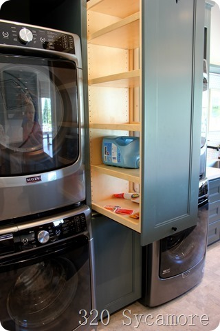 pullout cabinets in between washer dryer_thumb
