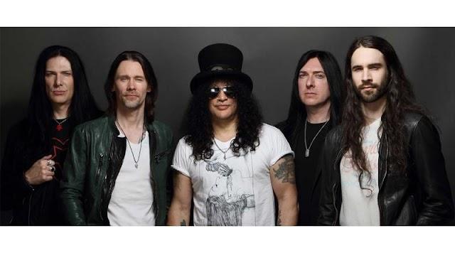 Confira a setlist dos shows do Slash na América do Sul