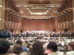 Right before the concert, Tosca, began