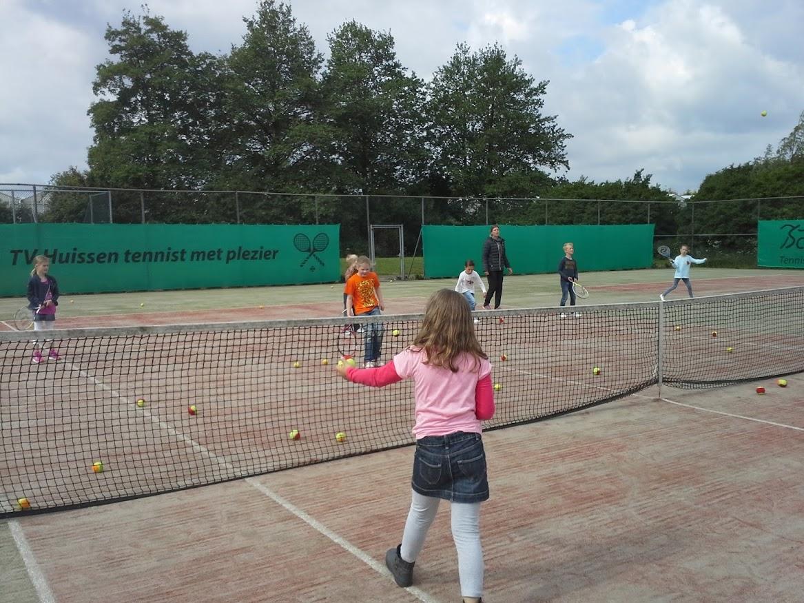 Tennisclinic groepen 4