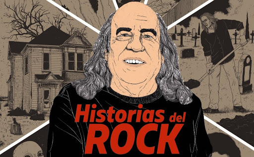 """'EL PIRATA' PUBLICA """"HISTORIAS DEL ROCK"""""""