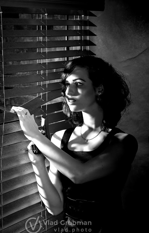Film Noir inspired shoot - photography by Vlad Grubman / ZealusMedia.com