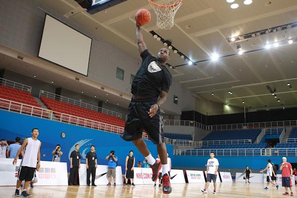 Recap LeBron Kicks off Nike China Tour in Beijing
