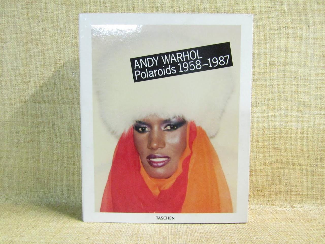 'Andy Warhol Polaroids 1958-1987' Book by Taschen