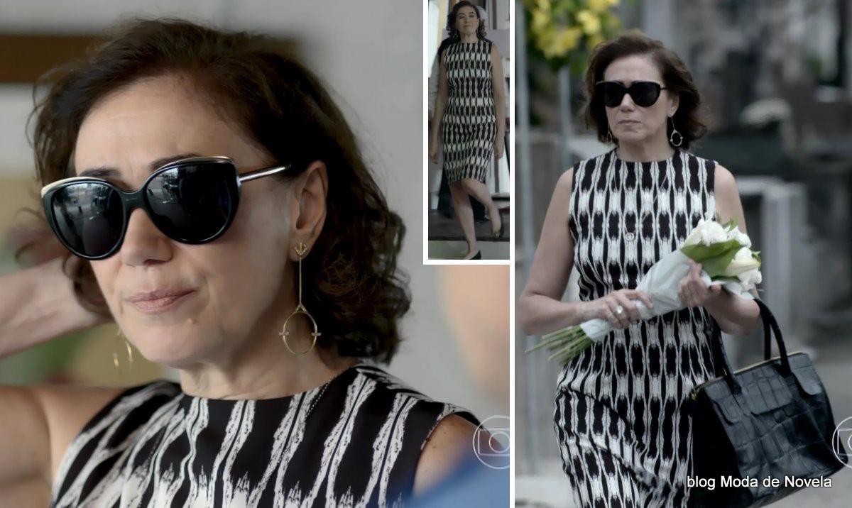 moda da novela Império, look da Maria Marta dia 27 de dezembro de 2014