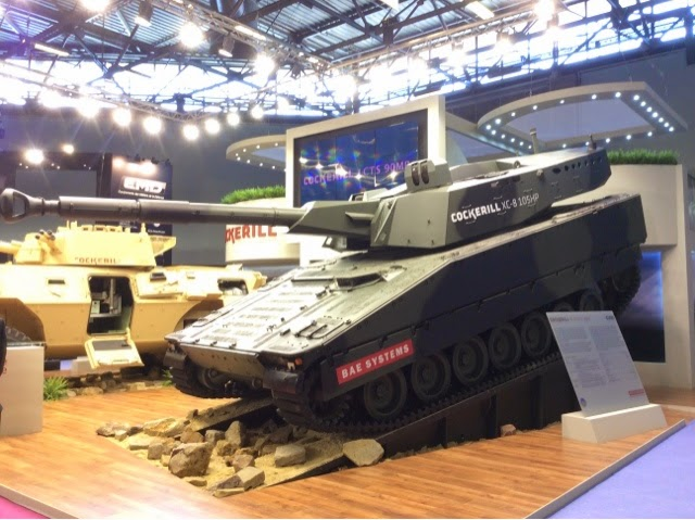 CV90 Light Tank with CMI 105 Turret
