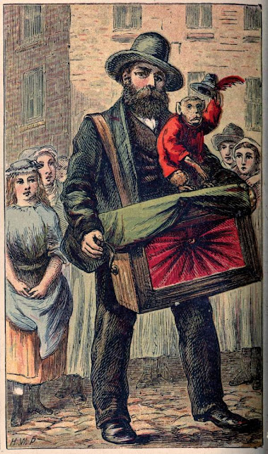 The Organ Grinder, by Horace William Petherick