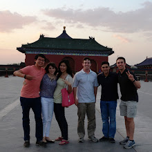 Denning Technology & Management Program - China Trip 2013 - Caterpillar Asia Power Systems - Temple of Heaven in Beijing, China