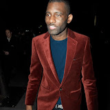 WWW.ENTSIMAGES.COM -    Wretch 32 at London Collections: Men : Oliver Spencer BFC Show Space, Old Sorting Office New Oxford Street London January 8th 2013                                                       Photo Mobis Photos/OIC 0203 174 1069