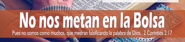 NOS METAN EN LA BOLSA (Sectas Cristianas)
