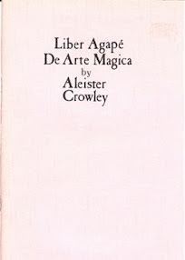 Cover of Aleister Crowley's Book Liber 414 Agape De Arte Magica