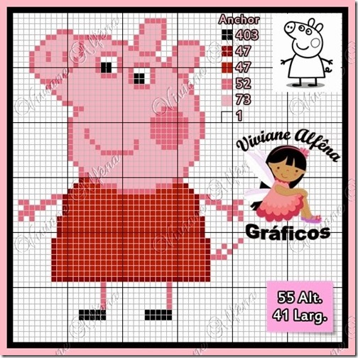 punto de cruz peppa pig (8)