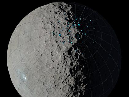 crateras em Ceres