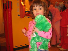 Maiah at Build-A-Bear