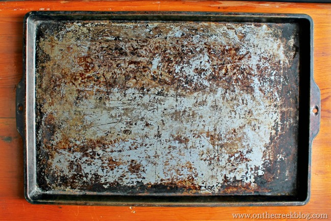 old cookie sheet