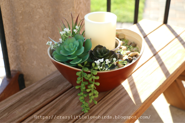 easy diy succulent table decoration