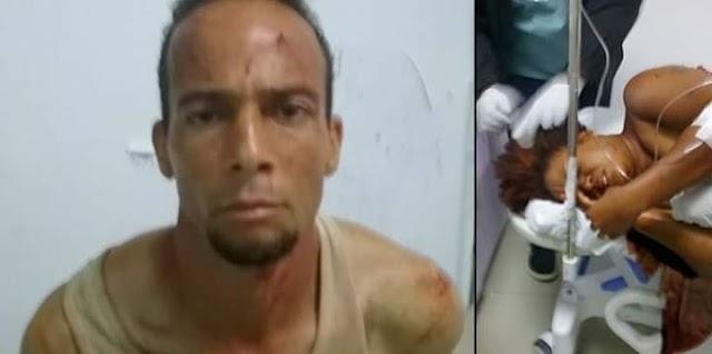 Apresan hombre que hirió con arma blanca a una mujer en Sánchez.