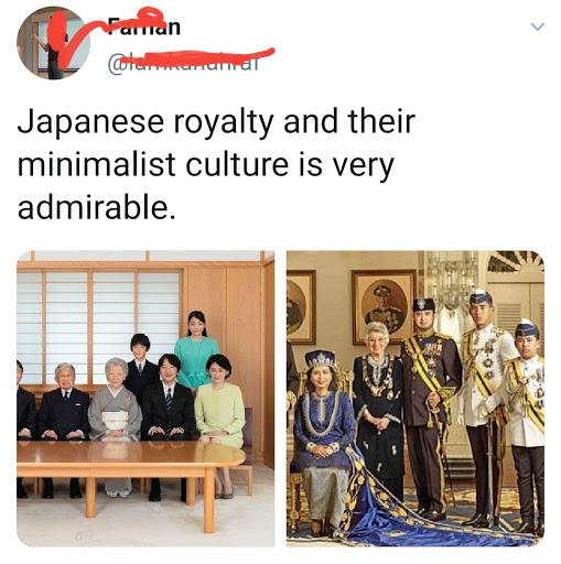 Mereka Bandingkan Keluarga Diraja Jepun Dengan Johor?