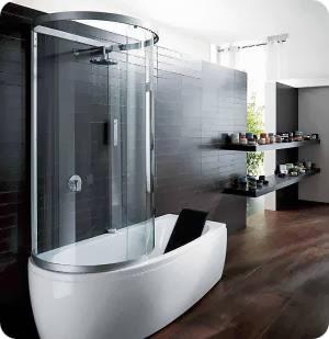Душевая кабинка с ванной