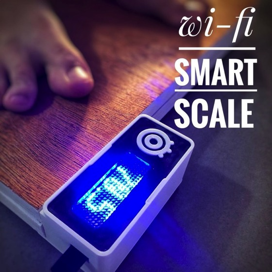 Wi-Fi Smart Scale via Instructables