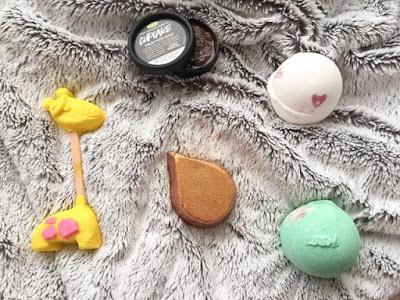 Lush cosmetics haul
