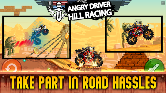 Hill Racing Attack 2