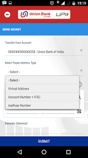 Union Bank UPI App- screenshot thumbnail