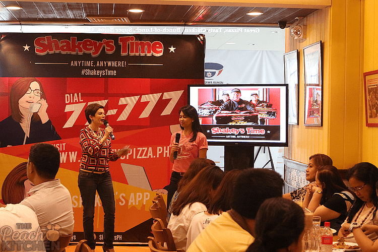 It's Shakey's Time... Anywhere, Anytime!