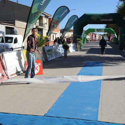 Carrera de Socuéllamos 2012 - Llegada