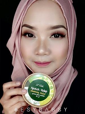 review-irisu-apotek-hidup-green-face-mask-binahong-kelor-esybabsy