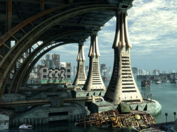 Harbor Of Space City, Fiction 2