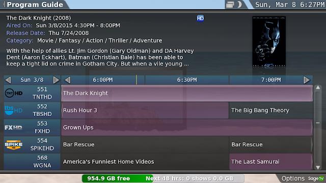 SageTV V7 Guide