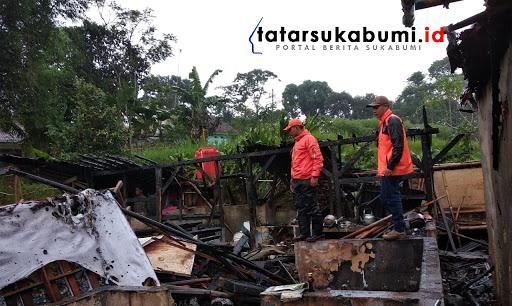 Kebakaran di Ciambar Sukabumi // Foto : Asep M-Rhe