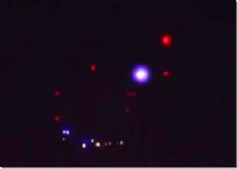 Mysterious Lights Spotted Over San Diego