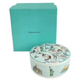 Tiffany & Co. World Map Jar