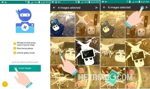 Jahili sahabat kau yang suka membuka galeri Android dengan cara berikut ini Cara Menjahili Teman Yang Membuka Galeri Android