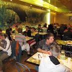 Eten in een restaurant met zelfbediening
