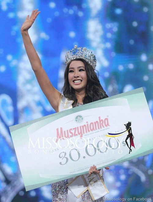 Miss Supranational 2017 is Jenny Kim from Korea
